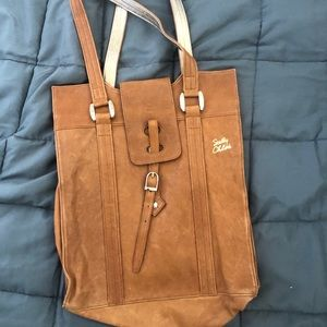 See by Chloe brown tote bag